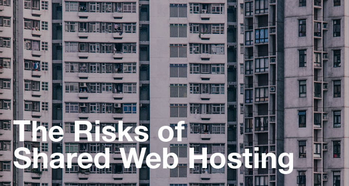 Risks of shared web hosting