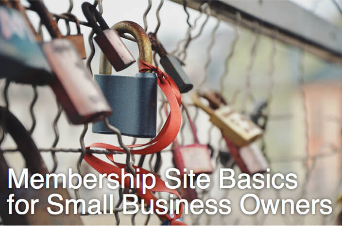 Membership Site Basics for Small Business Owners